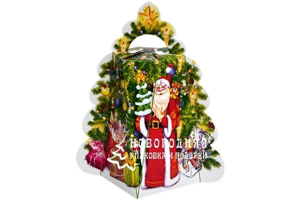 упаковка елка с Дед Морозом фото